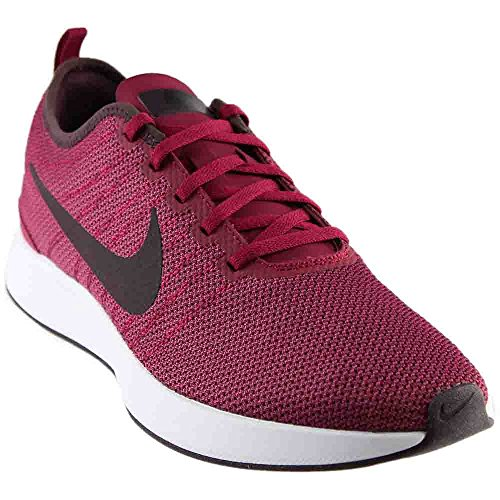 NIKE Men's Dualtone Racer Noble Red/Port Wine Black Casual Shoe 11 Men US