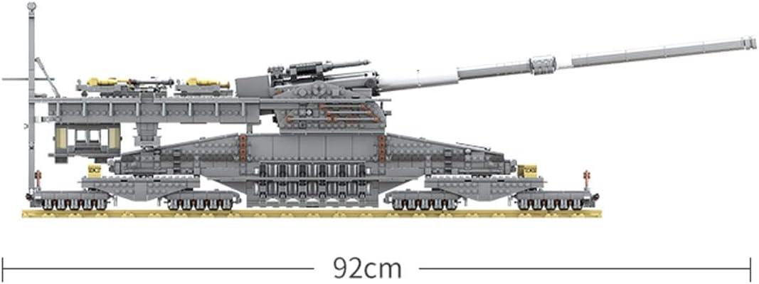 Dora Cannon 3846 St/ück WW2 Panzer Modell 1//72 Tank Modellbausatz Spielzeug Kompatibel mit Milit/är Baustein Seciie Bausteine Panzer Modell
