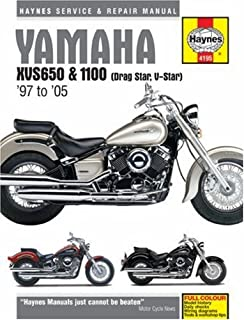 amazon com haynes repair manual xvs650 1100 v star 4195 automotive rh amazon com Customized V Star 650 Classic Customized V Star 650 Classic