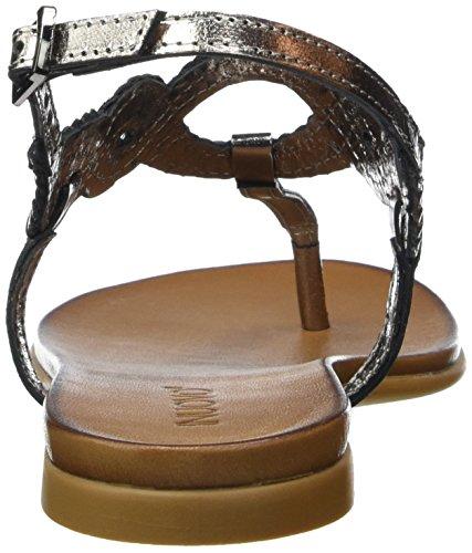 Inuovo 6195 - Sandalias Mujer Gris - Grau (PEWTER)