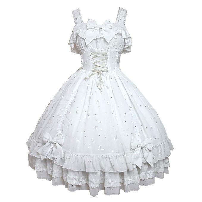 Amazon.com: Lolita - Vestido de moda para mujer, diseño de ...
