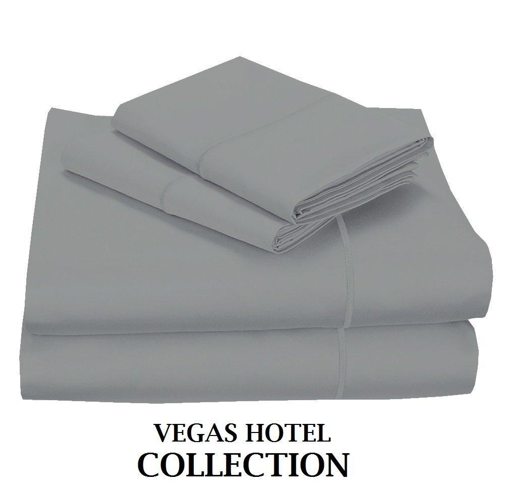 VegasホテルコレクションGreat Saleすべてサイズ400-tc 100 %エジプト綿カラーすべて」4-pcシートセットFitsマットレス9