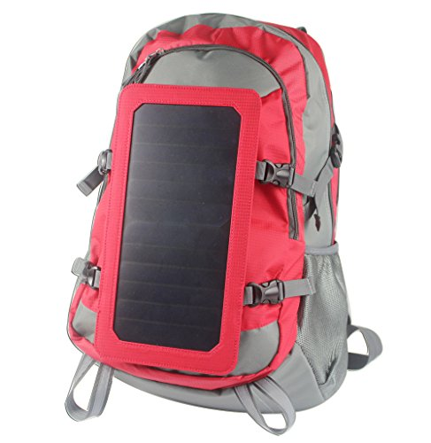 Tiangtech® Solar Backpack with Built-in Solar Charging Panel (6.5 Watt) by Tiangtech®