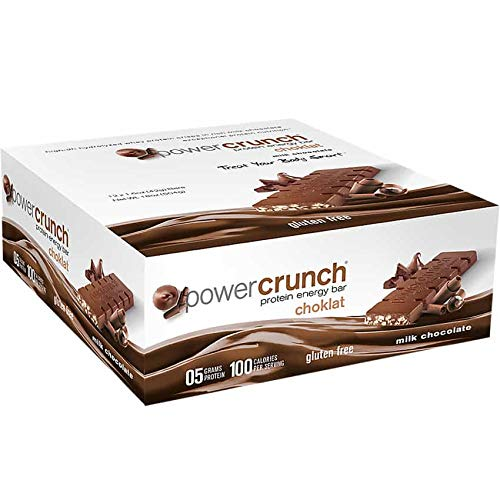 Choklat Crunch Belgian Milk Chocolate With Protein Crisps, 1.5-Ounce Boxes (Pack of -