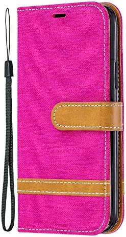 iPhone 11 Pro ケース, Zeebox® PUレザー ス手帳 財布型カバー, Apple iPhone 11 Pro 対応 女性向 スマートフォンケース, 耐摩擦 耐衝撃 360°保護 財布型 ケース, スタンド機能 マグネット開閉式, ローズレッド