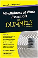 Mindfulness At Work Essentials For Dummies Front Cover