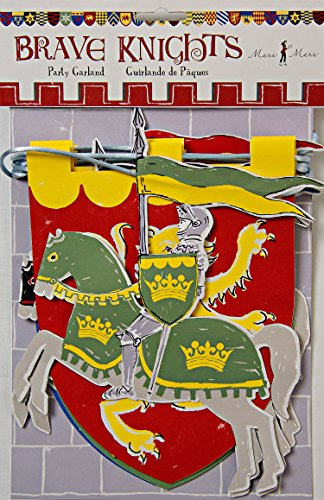 Meri Meri Party Garlands, Brave Knights (Medieval Party Decorations)