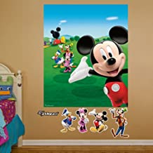 Fathead 74-74550 Wall Decal, Mickey Mouse Clubhouse Mural