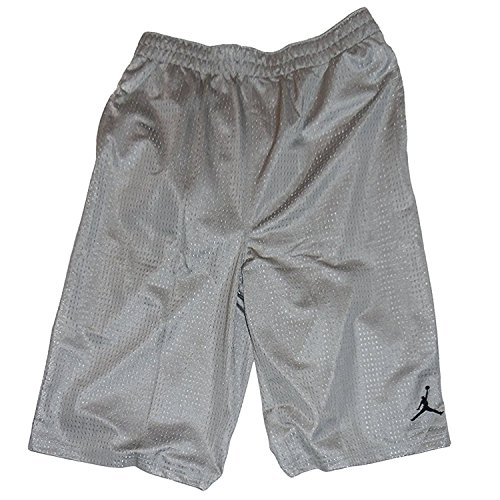 Nike Jordan Jumpman Basketball Mesh Shorts, XL, Silver Jordan Embroidered Shorts