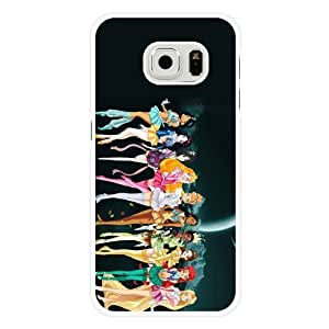 For Iphone 6 4.7 Inch Case Cover Diy Disney Princess White Hard Shell For Iphone 6 4.7 Inch Case Cover Disney Princess Edge Case(Only Fit for Edge)