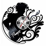 NiceIdeas4Home Prince Wall Clock Made from Vintage Vinyl Record Wonderful Handmade Gift for Your Loved one