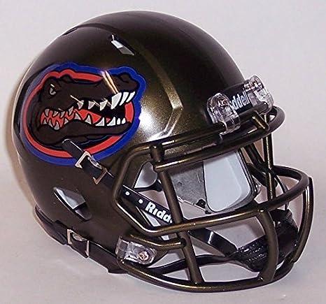 e324c2326c2 Amazon.com : Florida Gators NCAA Mini Speed Football Helmet NEW 2017 Swamp  Green : Sports & Outdoors