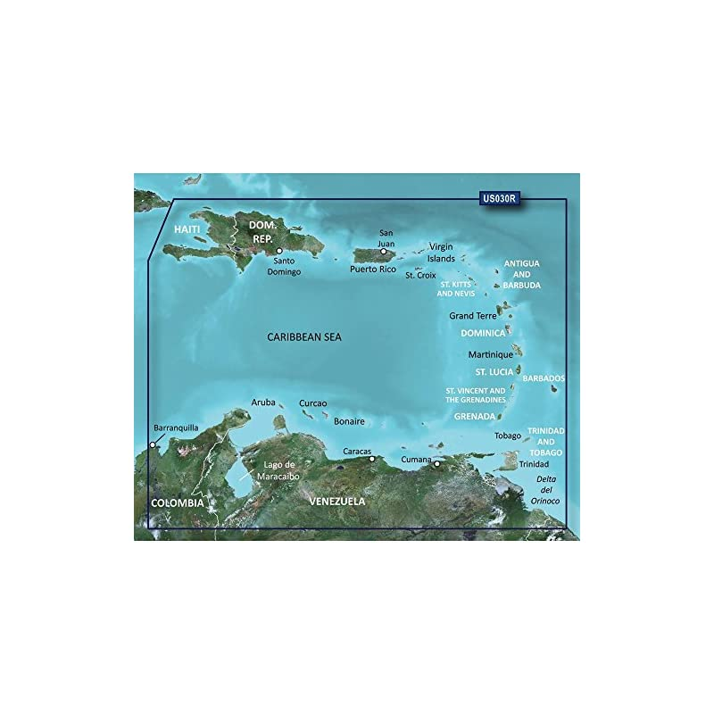 Garmin vus030r southeast caribbean sd card over $150