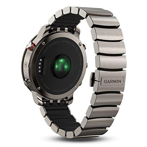Garmin, Fenix Chronos, Watch, Titanium with Brushed Titanium Band, 010-01957-01