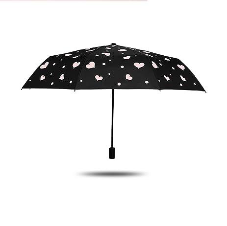 Edge to De Doble Uso Paraguas Plegable Paraguas Protector Solar UV Sombrilla Mujer Coreana