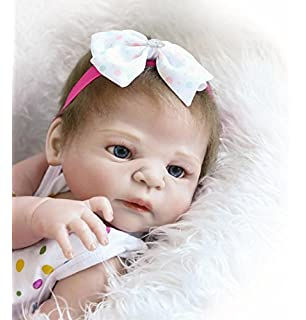 iCradle Full Body Vinyl Silicone Reborn Toddler Doll 18