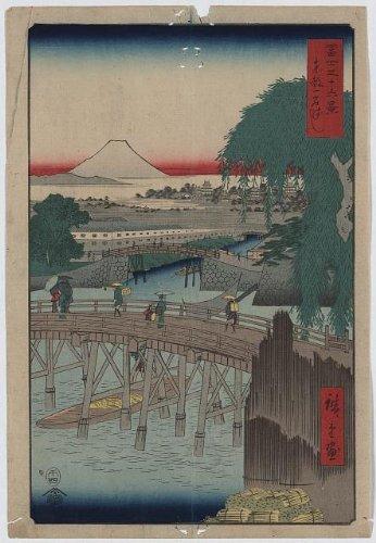 Japanese Print: Toto ikkokubashi - Ca Francisco San Malls In