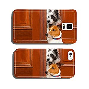 nosy dogs at the door cell phone cover case iPhone6 Plus