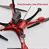 Sport-Camera-Holder-Frame-Bracket-for-Syma-X8-X8G-X8HG-X8C-X8HC-X8W-X8HW-RC-Quadcopter-Can-Add-Gopro-Hero-Xiaoyi-Xiaomi-Yi-SJcam-DBPower-Geekpro-Camera