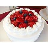 神戸スイーツ いちごショートケーキ ホール5号(5-6人分) (バースデーケーキ メッセージプレート&キャンドル付き 誕生日ケーキ バレンタイン 母の日 ひな祭り こどもの日 卒業祝い 入学祝い 洋菓子 お取り寄せグルメ 人気 有名)