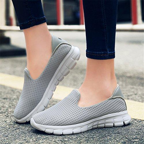 Lightgray nbsp;Walking nbsp;Shoes Slip Women nbsp;Loafers nbsp;Lightweight On nbsp;Sneakers nbsp;Casual XLXM xYzFwWXqBw