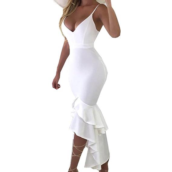 eb2f41305004 Vestidos de Fiesta Mujer Cortos Sexy Mosstars Vestido Sola Pieza ...