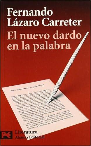 Libros de google descargas gratuitas. El nuevo dardo en la palabra (El Libro De Bolsillo - Humanidades) PDF FB2 8420659398