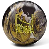 Brunswick True Nirvana Bowling Ball- Black/Chrome/Gold