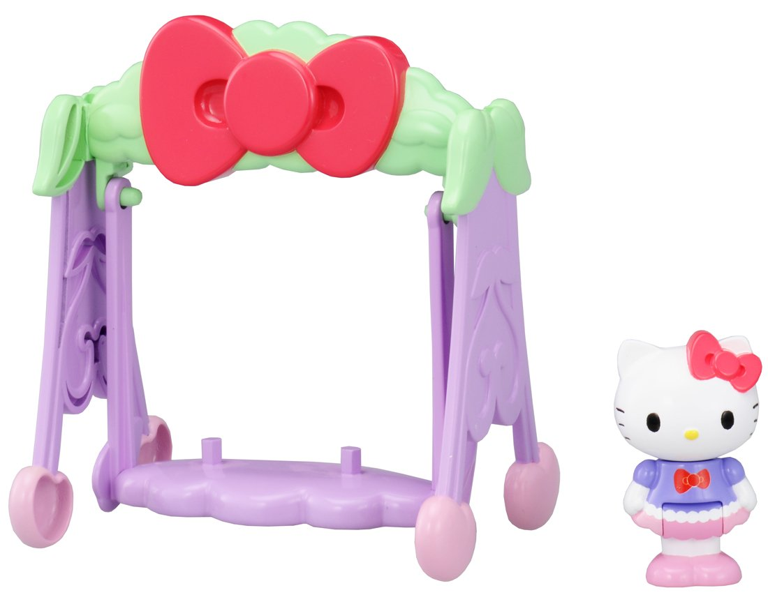 Futari oscilacin pegamento y Koedachan hablando coleccin Hello Kitty (japn importacin)