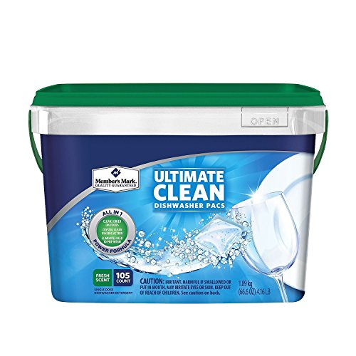 ultimate clean dishwasher pacs - 1