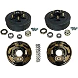 3,500 lbs. Trailer Axle Electric Brake Kit 5-5'' Bolt Circle