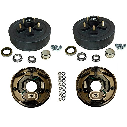 3,500 lbs. Trailer Axle Electric Brake Kit 5-4.5'' Bolt Circle by Southwest Wheel