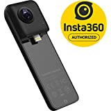 Insta360 Nano S 360 VR Camera, 4K HD 360 Degree Video Camera, Lifestyle Camera, 20MP Photos for for iPhone X, iPhone 8 series, iPhone 7 series, iPhone 6 series