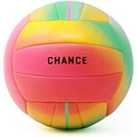 Chance Soft Cushioned Composite Leather Volleyball, Indoor/Outdoor/Pool/Beach Waterproof Recreational All Ages Training…