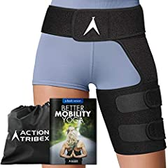 Do you have nagginghip, groin, thigh, lower back, sciatica nerve pain, or any other related injuries that always bothers you?Frustrated that every treatment and medicine you tried never make the pain go away? There is a SOLUTION:My Action Tribex Hip...