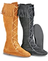 Minnetonka Men's Front Lace Knee High Boot
