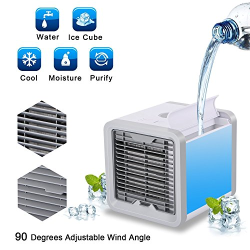 RAINBEAN Portable Air Cooler, Personal Space Air Conditioner