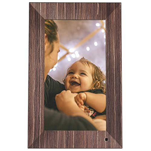 - NIX Lux Digital Photo Frame 13.3 inch X13B, Wood. Electronic Photo Frame USB SD/SDHC. Clock and Calendar Function. Digital Picture Frame with Motion Sensor. Remote Control and 8GB USB Stick Included