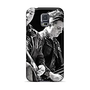 Bumper Cell-phone Hard Cover For Samsung Galaxy S5 (WAz41TJva) Custom Colorful Avenged Sevenfold Band A7X Pattern