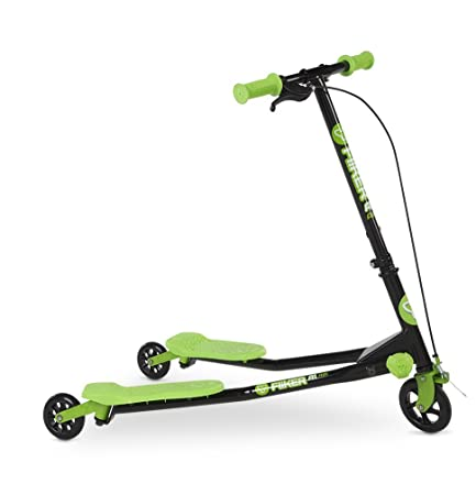Yvolution Y Fliker Air A1 Push Swing Scooter Winged Speeder Tri Wheel 3 Wheel Kick Scooter Carver Drifter for Boys/Girls/Children Kickboard - Multiple Colors