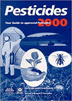 Book Pesticides 2000: Blue Book: Pesticides Safety Directorate / Health and Safety Executive