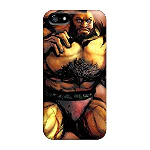 HdT1930ENyT Tpu Phone Case With Fashionable Look For Iphone 5/5s - Zangief