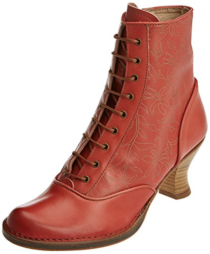 Neosens Women's S846 Restored Skin Ginger/Rococo Ankle Boots Red (Ginger) BmlwRBDD