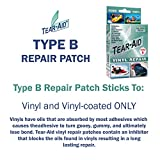TEAR-AID Vinyl Repair Kit, Green Box Type B, 4 Pack