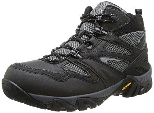 Hi-Tec Alpha Trail Mid Wp - Zapatillas de senderismo Hombre Grau (Coal/Charcoal/Grey 051)