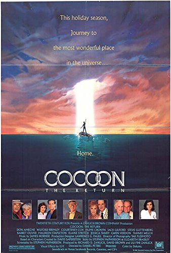 """Cocoon 2: The Return - Authentic Original 27"""" x 40"""" Folded Movie Poster by MovieposterDotCom"""