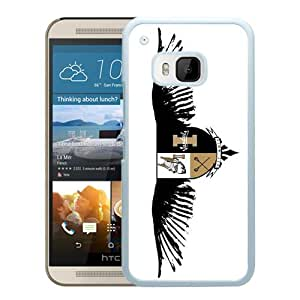 NCAA Independents Idaho Vandals 3 White Customize HTC ONE M9 Phone Cover Case