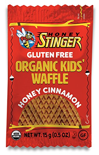 Honey Stinger Cinnamon Kids Organic Gluten Free Waffle, 6 Count (Pack of 12)