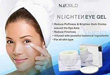9c334161f3e Image Unavailable. Image not available for. Color  NWORLD NLIGHTEN EYE GEL  naturally helps reduce puffiness ...