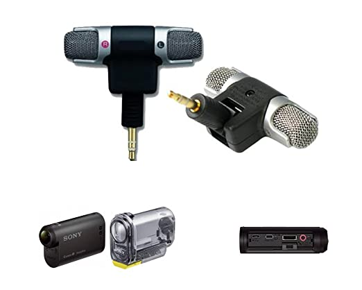 Amazon.com: T Microphone Compatible for Sony Action Cam HDR-AS15 ...